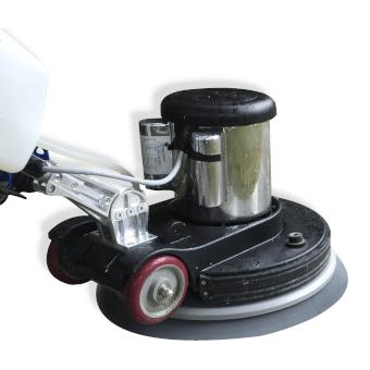 Bildausschnitt einer Scheuersaugmaschine für die professionelle Bodenreinigung