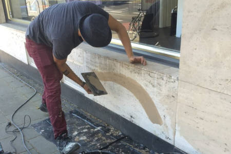 Fassadenausbesserung und Reinigung im Außenbereich